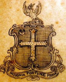 Delafield, John (1795 - 1866) (Stamp 1)