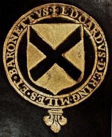 Dering, Edward, Sir, 1st Baronet, of Surrenden Dering (1598 - 1644) (Stamp 6)