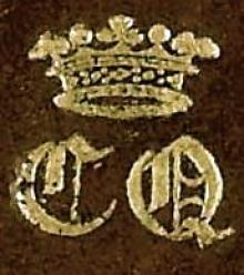 Douglas, Caroline, Marchioness of Queensberry (1774 - 1854) (Stamp 1)
