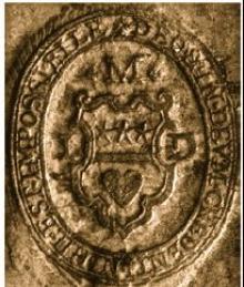 Douglas, James (Stamp 1)