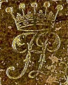 Fermor, Henrietta Louisa, Countess of Pomfret (Stamp 3)