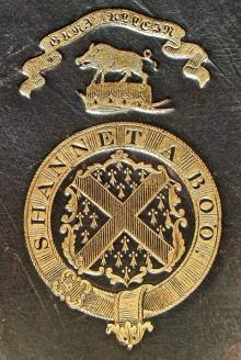 Fitzgerald, John Fraunceis, 22nd Knight of Glin (1791 - 1853) (Stamp 1)