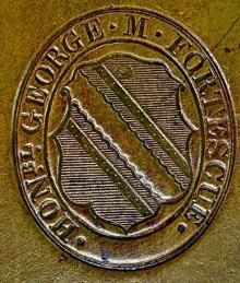 Fortescue, George Matthew (1791 - 1877) (Stamp 1)