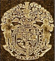 George, Prince of Denmark  (1653 - 1708) (Stamp 1)