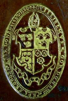 Gordon, William, Bishop of Aberdeen (Stamp 1)