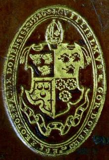 Gordon, William, Bishop of Aberdeen (Stamp 1)