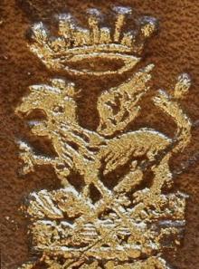 Grenville, John, 1st Earl of Bath  (1628 - 1701) (Stamp 2)
