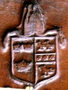 Gunning, Peter, Bishop of Ely (1614 - 1684) (Stamp 2)