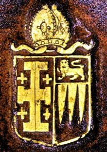 Hacket, John, Bishop of Lichfield (1590 - 1670) (Stamp 3)