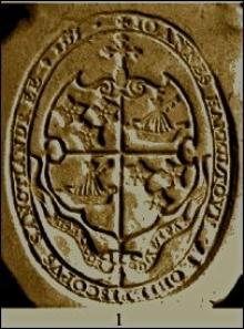 Hamilton, John, Archbishop of St. Andrews (1521 - 1571) (Stamp 1)