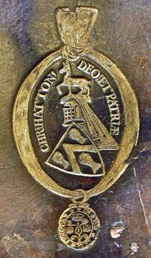 Hatton, Christopher, Baron Hatton, of Kirby (1605 - 1670) (Stamp 1)