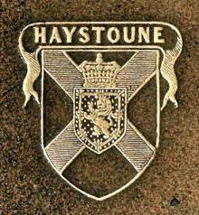 Hay, John, Sir, 5th Baronet,of Haystoun (1755 - 1830) (Stamp 1)
