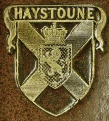 Hay, John, Sir, 5th Baronet,of Haystoun (1755 - 1830) (Stamp 2)