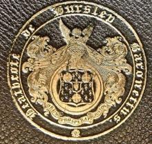 Heathcote, William, Sir, 5th Baronet (1801 - 1881) (Stamp 1)