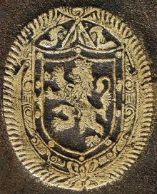 Henley, Andrew, Sir, 1st Baronet (1622 - 1675) (Stamp 1)