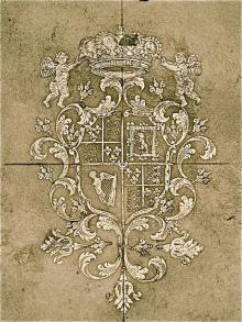 Henry Benedict, Cardinal York (1725 - 1807) (Stamp 6)