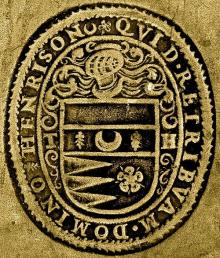 Henryson, Thomas, Sir, Lord Chesters (Stamp 1)