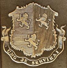 Herbert, Henry Howard Molyneux, 4th Earl of Carnarvon  (1831 - 1890) (Stamp 1)