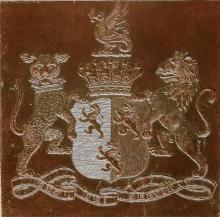 Herbert, Robert Henry, 12th Earl of Pembroke (1791) (Stamp 1)