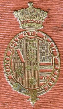 Howard, Frederick, 5th Earl of Carlisle (1748 - 1825) (Stamp 1)