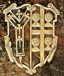 Juxon, William, Archbishop of Canterbury (1582 - 1663) (Stamp 3)