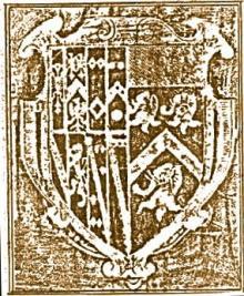 Killigrew, William, Sir (1579 - 1622) (Stamp 1)
