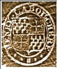 Labouchere, Henry, Baron Taunton (1798 - 1869) (Stamp 1)