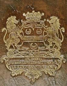 Lee, George Henry, 3rd Earl of Litchfield  (1718 - 1772) (Stamp 1)