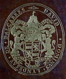 Lindsay, David, 1st Lord Lindsay of Balcarres  (1586 - 1641) (Stamp 1)