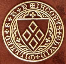 Millard, James Elwin (1824 - 1894) (Stamp 1)