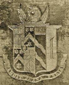 Milner, William Mordaunt Sturt, Sir, 4th Baronet (1779 - 1855) (Stamp 1)