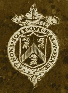 Monck, Christopher, 2nd Duke of Albermarle  (1650 - 1688) (Stamp 2)