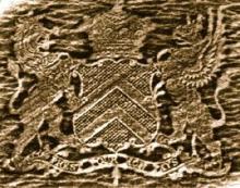 Monson, Frederick John, 5th Baron Monson, of Burton (1809 - 1841) (Stamp 1)