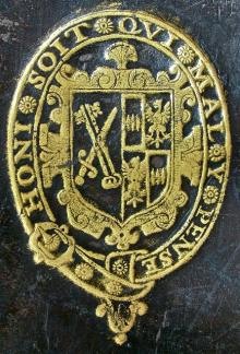 Montagu, James, Bishop of Winchester (1568 - 1618) (Stamp 1)