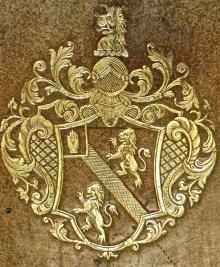 Osborn, Danvers, Sir, 3rd Baronet, of Chicksands (1715 - 1753) (Stamp 1)