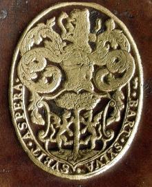 Paddy, William, Sir (1554 - 1635) (Stamp 1)
