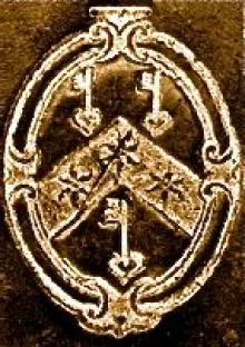Parker, Matthew, Archbishop of Canterbury (1504 - 1575) (Stamp 2)
