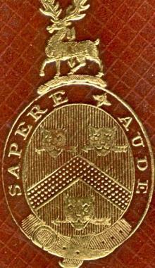 Parker, Robert Townley (1793 - 1879) (Stamp 1)
