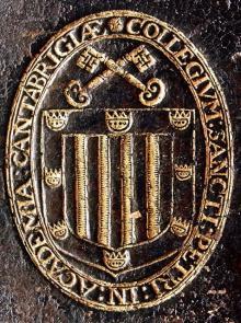 Peterhouse Cambridge (Stamp 1)