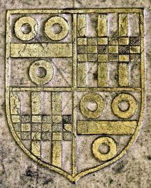 Pettus, Augustine, Sir (Stamp 1)