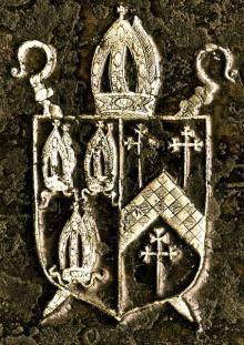 Reynolds, Edward, Bishop of Norwich (1599 - 1676) (Stamp 1)