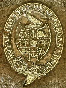 Royal College of Surgeons, London (Stamp 1)