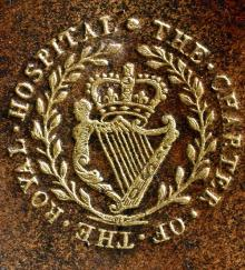 Royal Hospital of King Charles II, Dublin (Stamp 1)