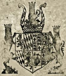 Rupert, Prince, Count Palatine, Duke of Bavaria (1619 - 1682) (Stamp 1)