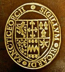 Saint George, Richard, Sir (Stamp 1)
