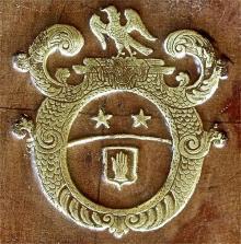 Saint John, Francis, Sir, Baronet, of Longthorpe (Stamp 1)