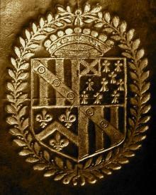 Sanderson, Nicholas, 2nd Viscount Castleton (1593 - 1640) (Stamp 1)
