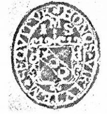 Scott, John (1585 - 1670) (Stamp 1)