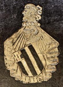 Shirley, Robert, Sir, 4th Baronet (1629 - 1656) (Stamp 1)