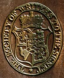 Signet Library Edinburgh (Stamp 4)